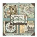 Stamperia - Double-Sided 12 x 12 Inch Paper Pack - Voyages Fantastiques Maxi